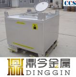 EdelstahlIBC Tote-Becken China-UNO anerkannte/chemische Behälter
