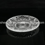 Ciotola di cristallo del diamante privo di piombo di 100% & piatto trasparenti SX-013