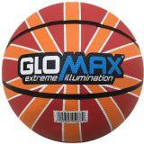 [غلومإكس] كرة سلّة مطّاطة زاهية رسميّة