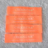 مصنع صنع وفقا لطلب الزّبون ساطع برتقاليّ لباس داخليّ علامة مميّزة, يحاك علامة مميّزة