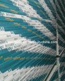 O papel padrão enfrentou a placa de gipsita, Plasterboard, Drywall, placa de gipsita resistente da umidade, Drywall da prova de fogo -- Preços de $0.8 por Sqm