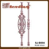 多様な様式のヨーロッパ式の鋳造アルミの手すり階段手すり(SJ-B004)