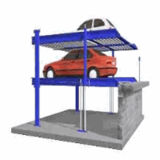 Alto Pit Car Parking Lift per Six Cars con Ce