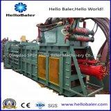 Machine de réutilisation de papier de presse horizontale de presse hydraulique