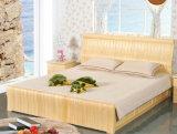 Festes hölzernes Bett-moderne doppelte Betten (M-X2239)