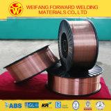 fio contínuo Sg2 da solda do fio de soldadura de 1.6mm Er70s-6 MIG no fabricante de China do carretel 15kg/