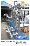 304 encaixe de tubulação sanitária do produto comestível SS304 3A FDA
