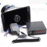 мегафон рожочка полиций рожочка громкоговорителя тона сирены 5 сигнала тревоги автомобиля 100W (JH100-5)