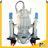 油圧アジテータ浸水許容の浚渫機のスラリーポンプ