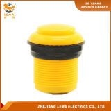 Jaune électrique Pbs-009 de commutateur de bouton poussoir de 33.4mm