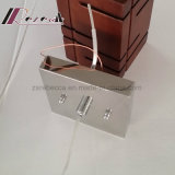 Светильник самомоднейшей квадратной формы деревянный привесной для штанги