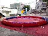 Arena inflable del agua para el entrenamiento