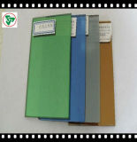 vidrio reflexivo azul verde oscuro de 4-10m m /Dark /Pink /Grey /Bronze con Ce