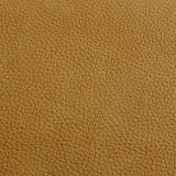 Cuero sintetizado grabado de la PU para el zapato
