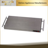 Piatto di riscaldamento di riscaldamento senza cordone dell'alimento di sicurezza del cassetto Es-4001 1100W dell'acciaio inossidabile di Sabbath