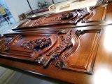 Design de porta de madeira extravagante Madeira de teca maciça Porta de luxo de luxo (XS1-025)