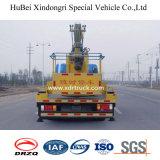Dongfeng 24m de Lucht Werkende Vrachtwagen van de Emmer van de Hoge Hoogte