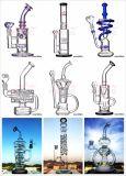 Het drievoudige Vat van de Honingraat van de Koepel filtert de Waterpijp van het Glas voor het Roken