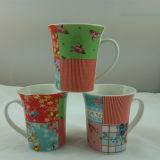 Tazza di caffè della porcellana della decorazione della Camera di caffè 12oz