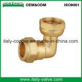 Cotovelo de bronze do igual da compressão da garantia de qualidade (AV7011)