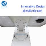 Novo tudo em uma luz de rua solar com o painel ajustável para o mercado norte-americano