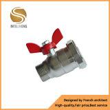Robinet à tournant sphérique en laiton de l'eau de coffre-fort de NA 25