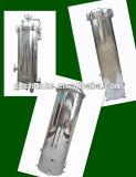 Custodia di filtro portatile industriale della cartuccia dell'acqua dell'acciaio inossidabile