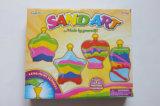 Искусствоо песка цвета малышей DIY Игрушк-Создает 4 ослеплять творения