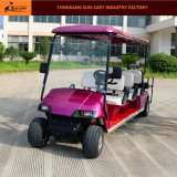 8 Sitze passten elektrische Golf-Karre an (hintere Kippensitze)