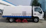 Preço do caminhão da vassoura de rua de Isuzu 4*2 LHD auto