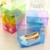 Mémoire de couleur/type en plastique transparents cristal Shoebox tiroir de bloc supérieur