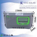 Types solaires solaires de contrôleur de charge du produit 24V PWM