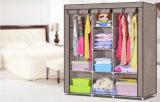 Armadio non tessuto poco costoso moderno del Armoire del guardaroba della mobilia domestica
