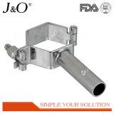 Suporte do aço inoxidável de sustentação de tubulação do suporte dos encaixes de tubulação sanitária
