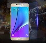 Aparência feita sob encomenda desobstruída elevada película de vidro Tempered curvada do ajuste perfeito para a nota 5 de Samsung