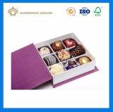 Упаковывая картонная коробка шоколада коробки роскошная с крышкой (с приложением тесемки)