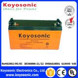 batterie profonde de cycle de 12V 130ah, batterie d'AGM VRLA pour des outils d'énergie électrique
