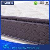 Primeros comprimidos los 27cm del fabricante del colchón del OEM altos con el resorte Pocket de 5 zonas y la tapa de lujo de la almohadilla