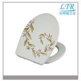 Blumen-automatischer schnelle Freigabe-Toiletten-Sitzdeckel