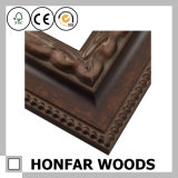 Rétro bâti en bois découpé en bronze de photo