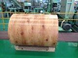 Bobine en acier en bois de la couleur PPGI/PPGL de modèle de brique