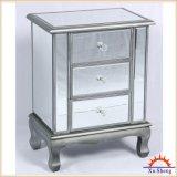 Gabinete com revestimento espelhado, vidro de prata do acento da gaveta de Reflectioms 3