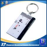 Подгонянная нержавеющая сталь Keychain с логосом печатание (Ele-K078)