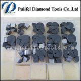 Segment de meulage de meulage de diamant du segment PCD d'étage époxy de diamant