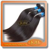 Les paquets brésiliens de cheveu de Vierge bon marché, trame brésilienne de cheveux humains de vente en gros cousent en armure brésilienne non transformée de cheveux humains de Remy de Vierge d'armure