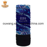 顧客用最新の様式の美しい花の印刷された羊毛釣スカーフ