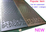 blad van het Aluminium van 3mm het Dikke met de Decoratieve Patronen van Perforaties