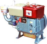 Motor diesel del motor fresco del agua Zs195 para la agricultura