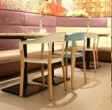 강철과 목제 대중음식점 의자 (DS-C192)
