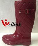 Nuevo PVC Rainboots de las señoras del estilo con la correa ajustable